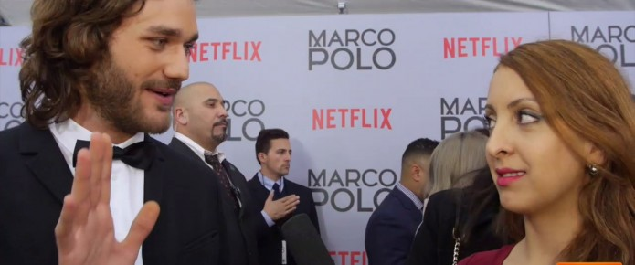 Talking To The Cast Of Marco Polo At The NYC Premiere