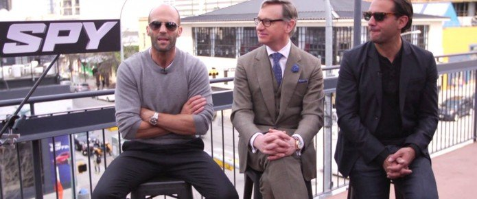 Exclusive Video Interview: Jason Statham, Paul Feig And Bobby Cannavale Talk Spy