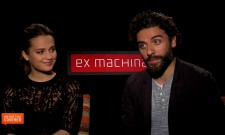 Exclusive Video Interview: Oscar Isaac And Alicia Vikander Talk Ex Machina