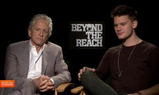 Exclusive Video Interview: Michael Douglas And Jeremy Irvine Talk Beyond The Reach