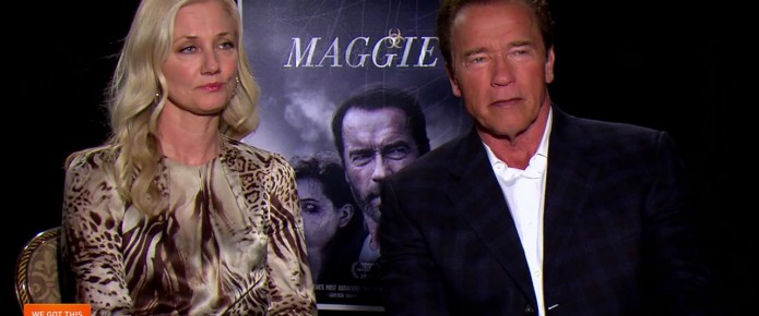 Exclusive Video Interview: Arnold Schwarzenegger And Joely Richardson Talk Maggie