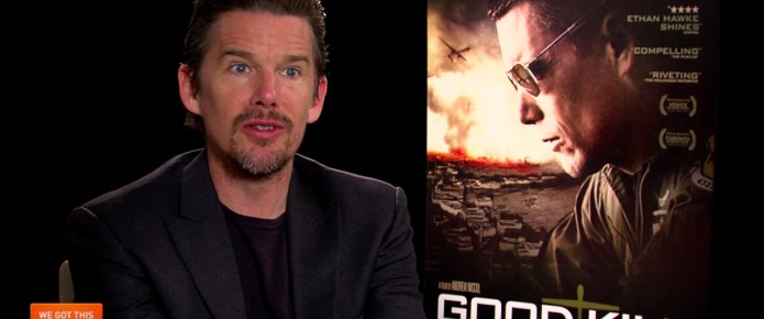 Exclusive Video Interview: Ethan Hawke And Andrew Niccol Talk Good Kill