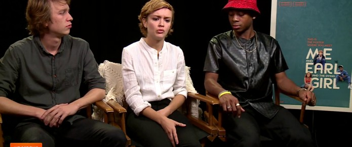 Exclusive Video Interview: The Cast Of Me And Earl And The Dying Girl Talk Filming Difficult Scenes