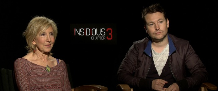 Exclusive Video Interview: Leigh Whannell, Lin Shaye And Dermot Mulroney Talk Insidious: Chapter 3