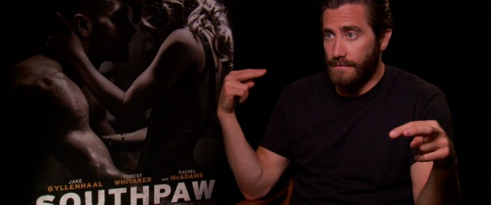 Exclusive Video Interview: Jake Gyllenhaal Talks Southpaw And The Boxing Genre