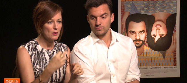 Exclusive Video Interview: Jake Johnson And Rosemarie DeWitt Talk Digging For Fire