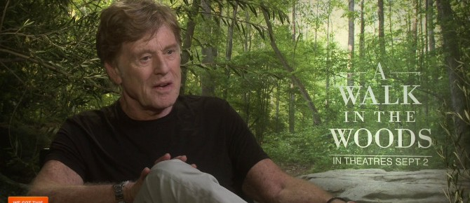 Exclusive Video Interview: Robert Redford And Nick Nolte Talk A Walk In The Woods