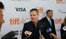 Talking To Matt Damon At The Martian World Premiere