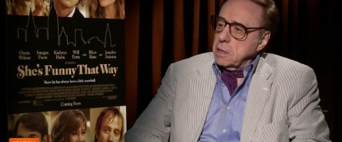Exclusive Video Interview: Peter Bogdanovich Talks She's Funny That Way