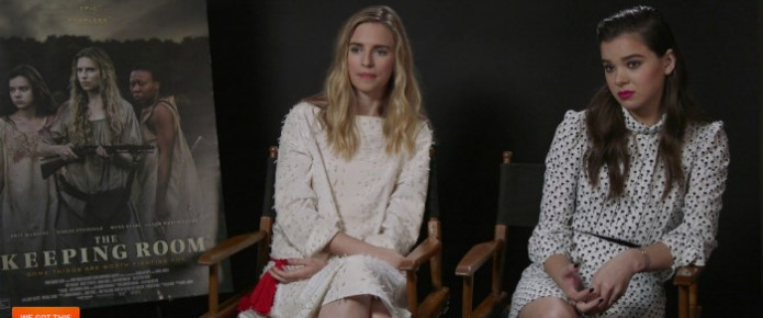 Exclusive Video Interview: Brit Marling And Hailee Steinfeld Talk The Keeping Room
