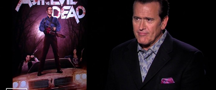 Exclusive Video Interview: Bruce Campbell, Lucy Lawless And Jill Marie Jones Talk Ash Vs. Evil Dead