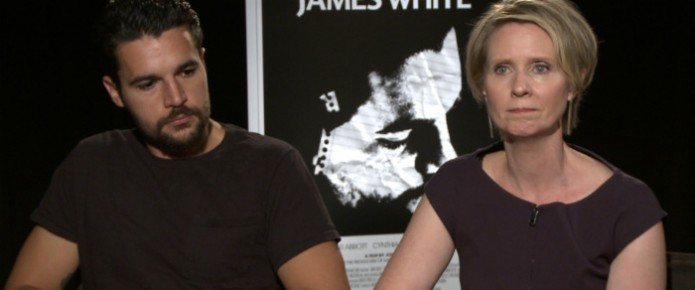 Exclusive Video Interview: Cynthia Nixon And Chris Abbott Talk James White