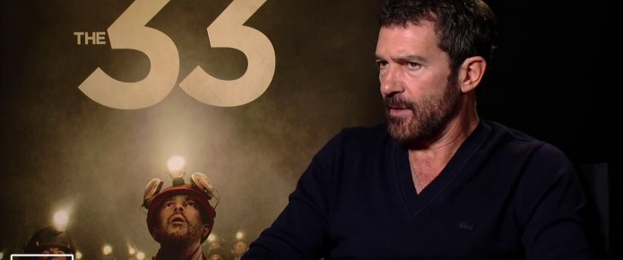 Exclusive Video Interview: Antonio Banderas Talks The 33