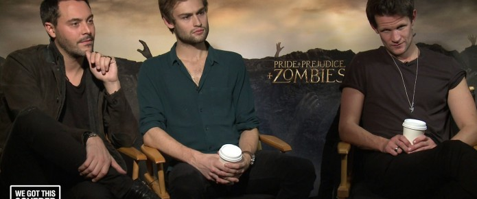 Exclusive Video Interview: Matt Smith, Douglas Booth And Jack Huston Talk Pride And Prejudice And Zombies