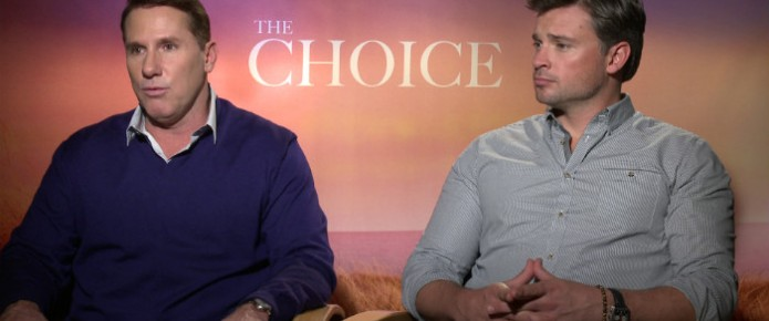 Exclusive Video Interview: Nicholas Sparks And Tom Welling Talk The Choice