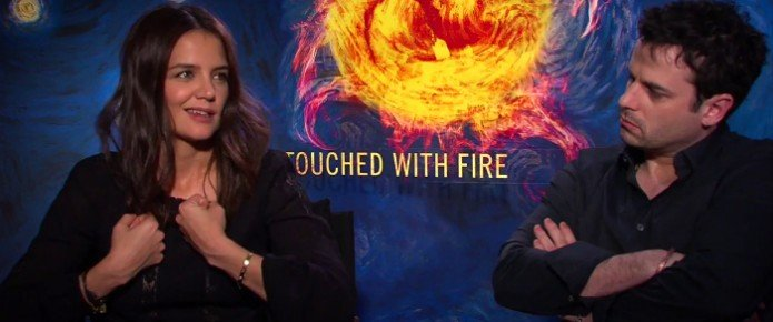Exclusive Video Interview: Katie Holmes And Luke Kirby Talks Touched With Fire