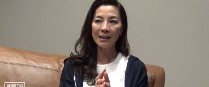 Exclusive Video Interview: Michelle Yeoh Talks Crouching Tiger, Hidden Dragon: Sword Of Destiny