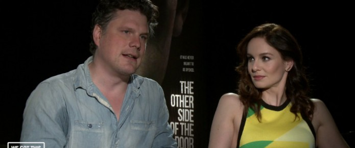 Exclusive Video Interview: Sarah Wayne Callies And Johannes Roberts Talk The Other Side Of The Door
