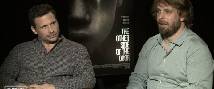 Exclusive Video Interview: Jeremy Sisto And Alexandre Aja Talk The Other Side Of The Door