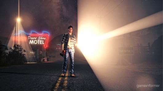 First Screen From Alan Wake's Night Springs Looks Perfect