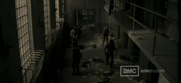 Take A Journey Through The Prison From The Walking Dead Season 3