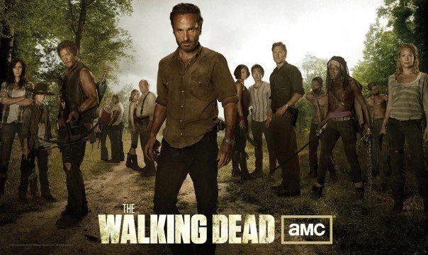 The Survivors Assemble In The Walking Dead Season 3 Poster