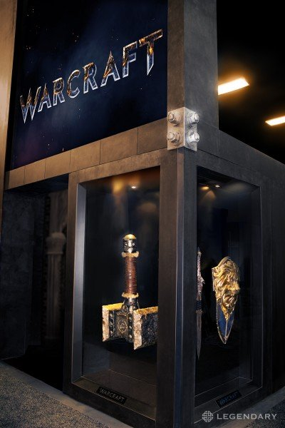 Warcraft Logo And Props Unveiled At Comic-Con 2014