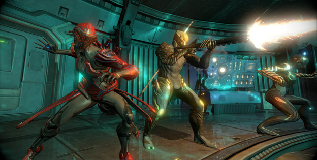 Online Free-To-Play Shooter Warframe Makes The Jump To Xbox One Today
