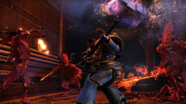 Warhammer 40K: Space Marine Hands-On Preview [X'11]