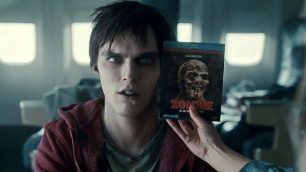 warm bodies hoult zombie BD 610x343 Warm Bodies Review