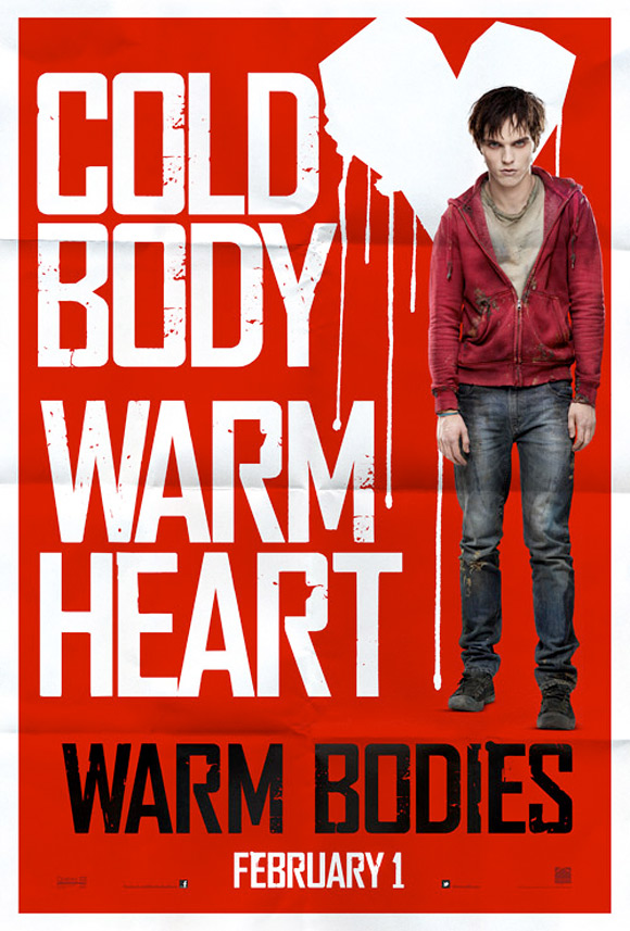 warm bodies Warm Bodies Teaser Poster Has Lovely Colours