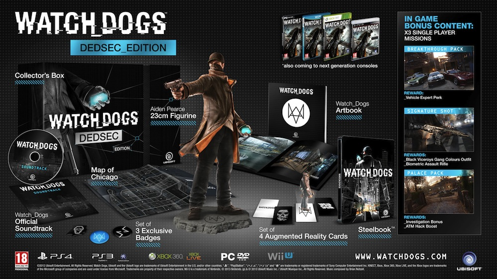watch dogs dedsec edition Watch Dogs Gallery