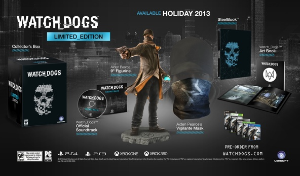 Ubisoft Details Watch Dogs Limited Edition