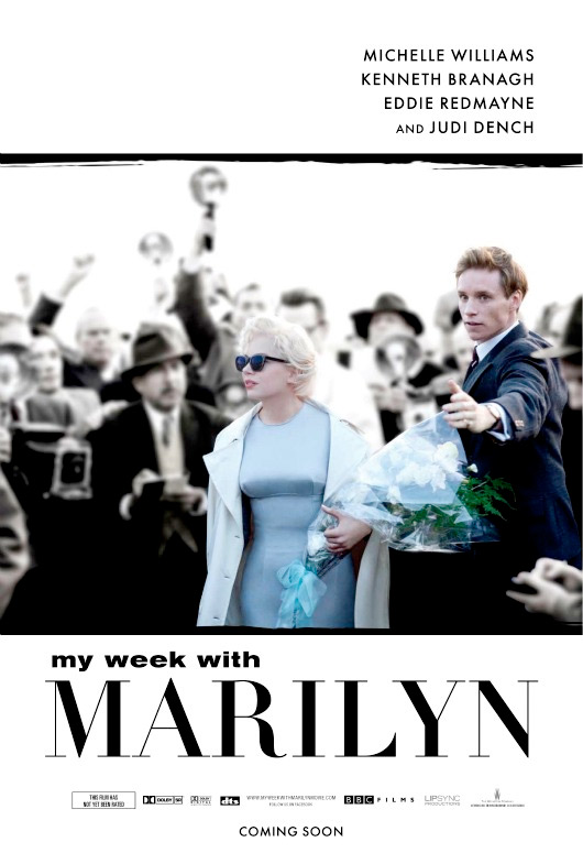 First Official Poster For My Week With Marilyn