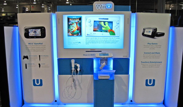 Wii U Demo Kiosks Rolling Out To US Retailers