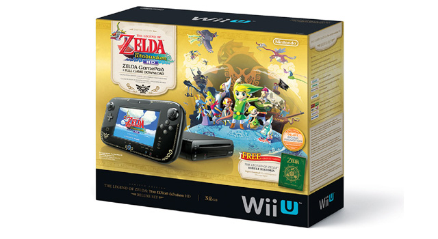 wii u zelda wind waker bundle
