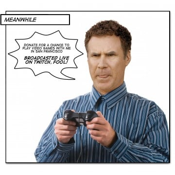 Will Ferrell To Raise Money For Charity By Playing Video Games