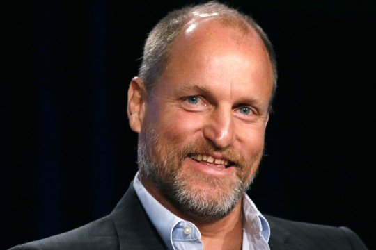 "Actor Woody Harrelson talks about HBO's ""True Detective"" during the Winter 2014 TCA presentations in Pasadena"