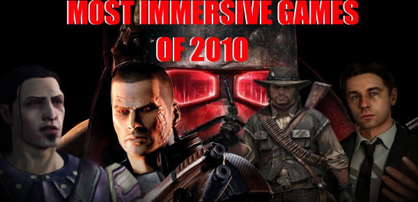 Most Immersive Games Of 2010
