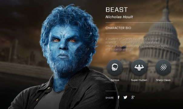 X-Men Days Of Future Past X Men Beast Logo