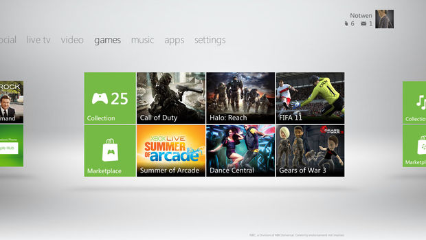 XBOX 360 Dashboard Gets A Fall Makeover