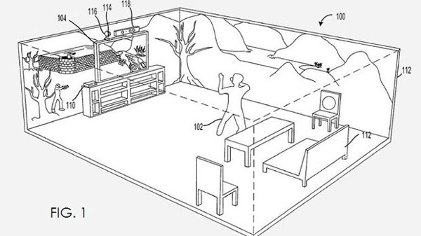 "Microsoft Xbox 720 Patent Shows Room Filling ""Environmental Display"""