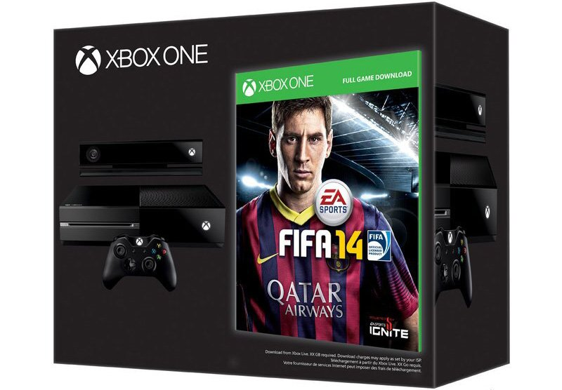 [Update, Confirmed] Xbox One To Launch With Free Copy Of FIFA 14 In Europe