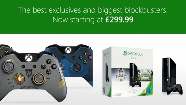 Xbox One Price Slashed To £299 In The UK