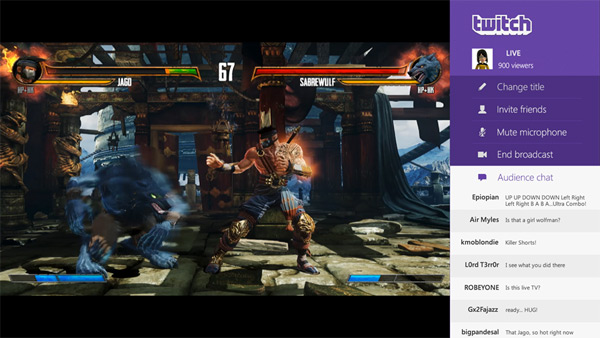 Twitch Broadcasting For Xbox One Available Today