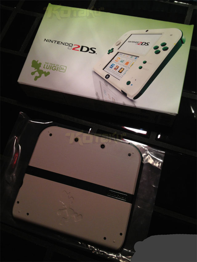 [Update] Year Of Luigi Themed 2DS Images Reportedly Leaked, Looks Incredible!