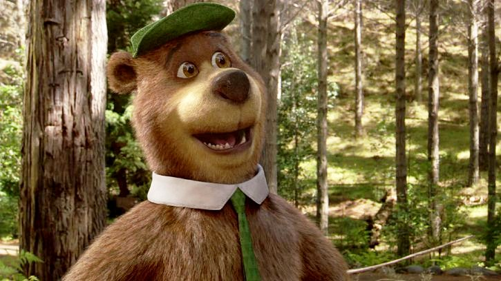 Well 2010 ends with Yogi Bear. Based on the beloved Hanna-Barbera characters