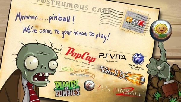 Plants Vs. Zombies Pinball Releases Next Week On PSN And XBLA