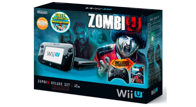 zombiu wii u bundle Wii U ZombiU Bundle Stumbles To North America This Month