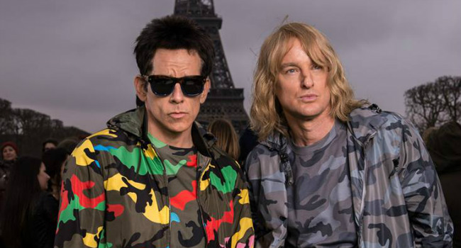 Derek And Hansel Indulge In Some Appropriately Vain Selfies In Zoolander 2 Poster